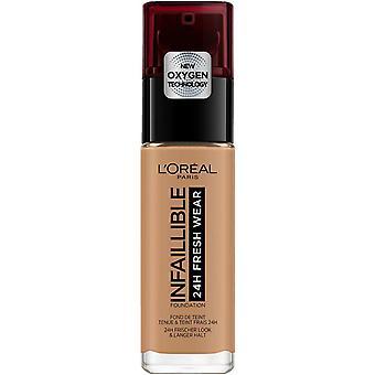 L ' Oréal Paris maken van Base de Maquillaje Infalible 24u verse dragen Tono 290 Ambre Dore
