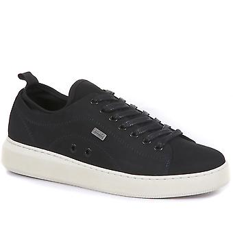 Barbour International Mens Hailwood Leather Trainers