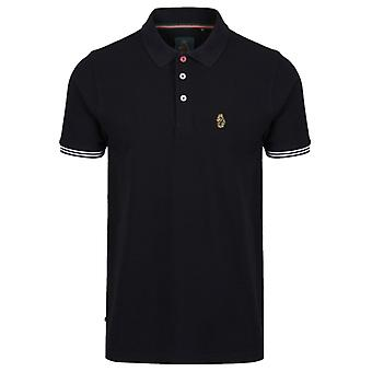 Luke 1977 New Mead Polo Shirt Black 10