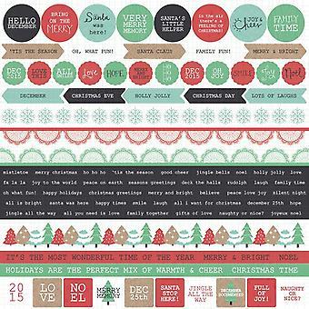 Kaisercraft - Christmas - Holly Jolly Sticker Sheet
