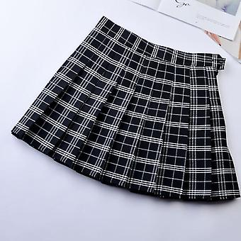 Jk Plaid Skirt, Women Tennis Skirt