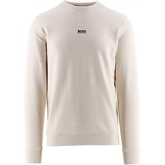 BOSS Cream Weevo 2 Sweatshirt