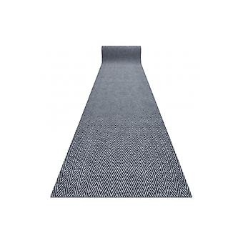 Runner - Doormat antislip 200 cm MAGNUS 2954 Zigzag outdoor, indoor grey