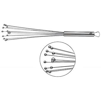 Wokex Profi Plus Rhrblitz 32 cm, Schneebesen Edelstahl -Kugeln, Cromargan Edelstahl teilmattiert,