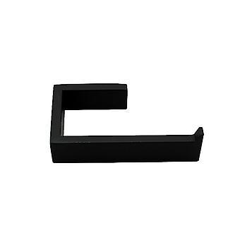 Stainless Steel Matt Black Toilet Paper Holder