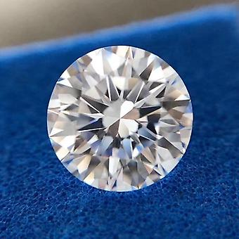 5mm D Color 0.5ct Carat Loose Moissanite Stone For Ring