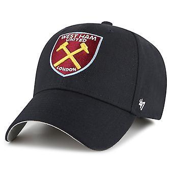 47 Brand Afslappet Fit Cap - West Ham United flåde