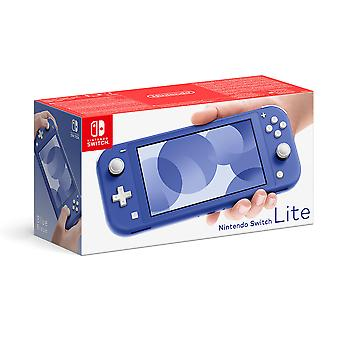 Blauwe Nintendo Switch Lite Console