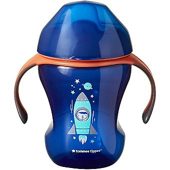 Tommee Tippee Training Sippee Cup Blue Rocket 7m+