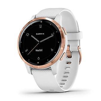Garmin Vivoactive 4S Smartwatch GPS, Music, Garmin Pay, Wi-Fi, Multicolor (White / Rose Gold)