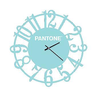 PANTONE Montre Lens Couleur Bleu, Blanc, en Métal L40xP0,15xA40 cm