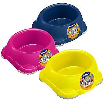 Vitakraft Plastic Non Slip Plastic Feeder (Dogs , Bowls, Feeders & Water Dispensers)