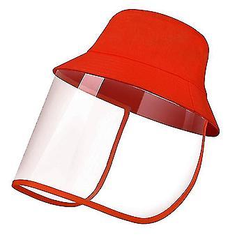 28Cm * 25 سم * 1 سم قبعة شمس حمراء في الهواء الطلق للرجال والنساء x5097