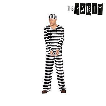 Disfraz para adultos preso masculino