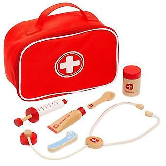 leketøy medisinsk tilfelle med tilbehør Moltó Wood (7 stk)