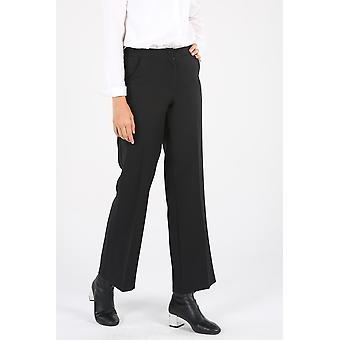 Pocket Buttoned Zippered Hijab Pants