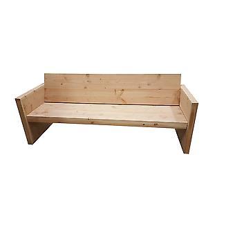 Wood4you - Tuinbank Vlieland - 'Doe het zelf' Bouwpakket Douglas 180Lx72Hx57D cm