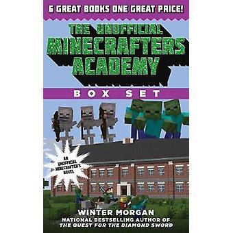غير رسمية Minecrafters أكاديمية سلسلة مربع مجموعة 6 قصص مثيرة لماين كرافترز من قبل مورغان الشتاء