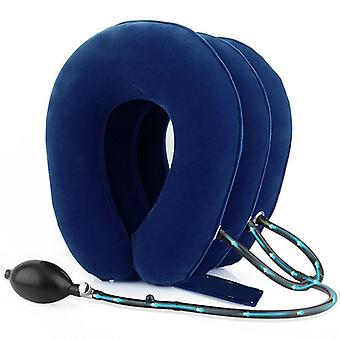 Inflatable Pillow Cervical Traction Device Soothes