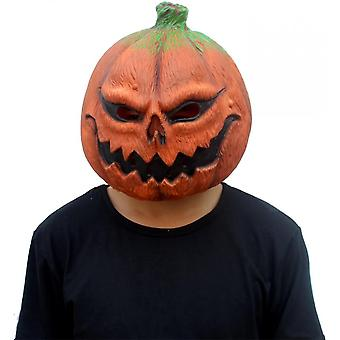 Pumpkin Mask Scary Latex Full Head Mask For Halloween Costume Party