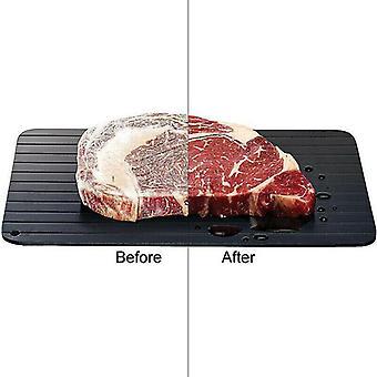 Fast Rapid Thawing Defrosting Tray Kitchen Steak Defrost Meat Thaw Frozen Food