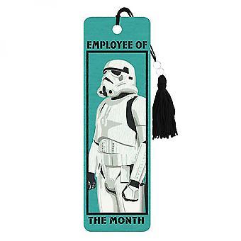 Star Warsin kuukauden työntekijä Stormtrooper Kirjanmerkki