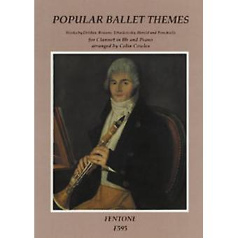 Popular Ballet Themes Clarinet, Book Only, Fentone Music