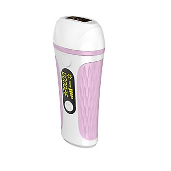 IPL laser hair removal device for women and men, permanent hair removal on the face, armpits, bikini line, legs and arms(Pink)