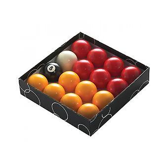 PowerGlide الكلاسيكية القياسية الأحمر والأصفر كرات تجمع 57mm - محاصر