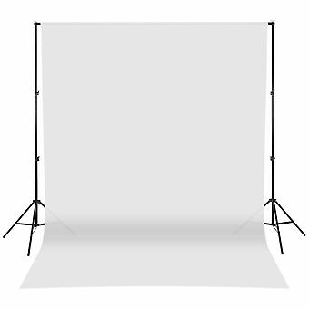 Photography Background Support Stand Photo Muslin Backdrop Kit Adjustable 10ft