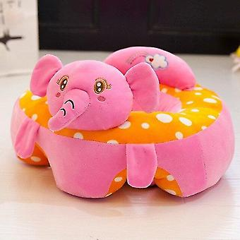 Stuffed animals learn seat plush chair safety cartoon animal children support kids sofa baby bedroom 30*50cm