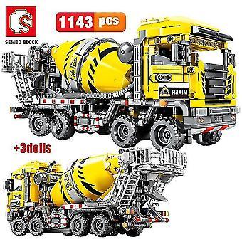 Qian Engineering Bulldozer Crane Camión de automóvil de alta tecnología