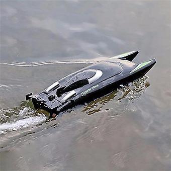Alta velocidad 25 km / h Rc Boat-negro