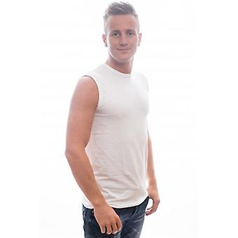 Slater T-Shirt Sleeveless White 1 pack ( art 1500 )