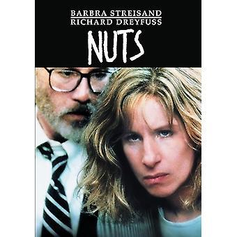 Pähkinät (1987) [DVD] USA tuonti