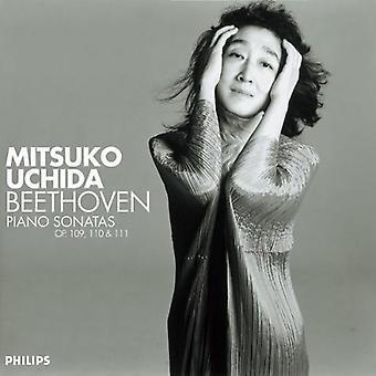 Mitsuko Uchida - Beethoven: Klaviersonaten OP. 109, 110 & 11 [CD] USA importieren