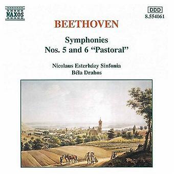 L.V. Beethoven - Beethoven: Symfonier nr. 5 & 6 [DVD] USA import