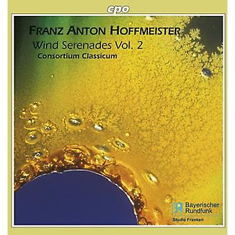 F.a. Hoffmeister - Franz Anton Hoffmeister: Viento serenatas, importación USA Vol. 2 [CD]