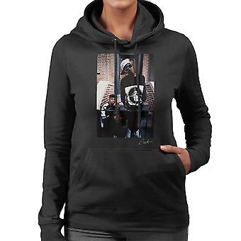 Öffentlichen Feind Flavor Flav Chuck D auf Schritte Damen Sweatshirt mit Kapuze