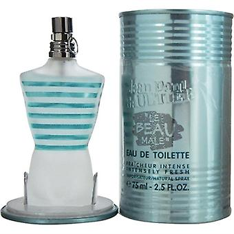 Le Beau Male by Jean Paul Gaultier for Men 2.5oz Eau De Toilette Fraicheur Intensely Fresh Spray