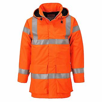 Portwest - Bizflame Rain Specialist Workwear Breathable Hi-Vis Multi Lite Jacket