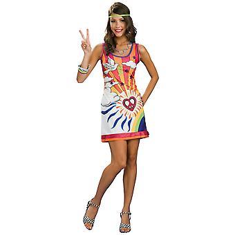 Sunshine Daydreamer 1960s 1970s Hippie Hippy Peace Child Retro Women Costume