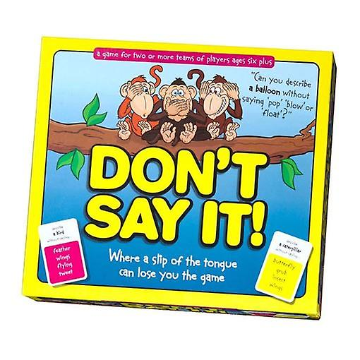 Don't Say It, Paul Lamond Games for 2 or more players, age 6 yrs+