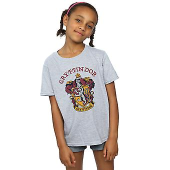 Harry Potter meisjes Griffoendor Crest T-Shirt