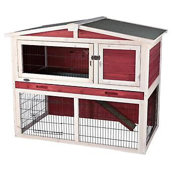 Trixie Shed Natura With Enclosure  123 x 96 x 76 cm (Small pets , Cages and Parks)