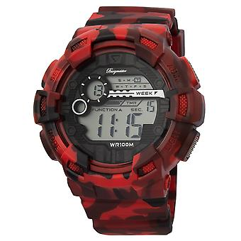 Burgmeister gents alarm Chronograph digital Watch Halifax BM803-024