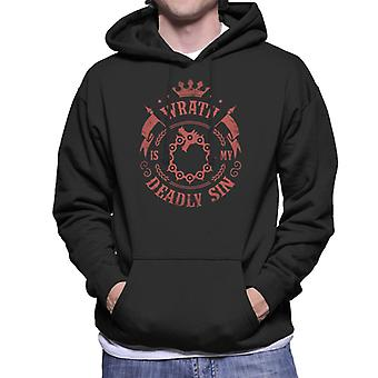 Seven Deadly Sins Wrath Meliodas Men's Hooded Sweatshirt