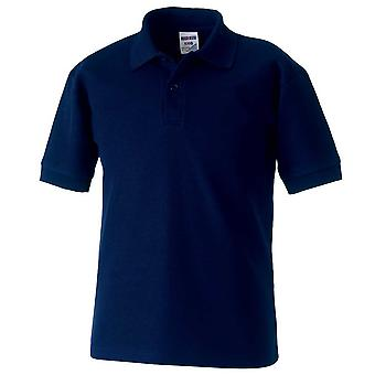 Russell Mens 65/35 Poly/Cotton Short Sleeve Polo Shirts