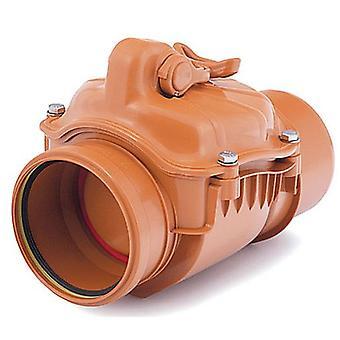 110-200mm Polypropylene Check Non-Return Anti-Flood Valve Backwater Prevented
