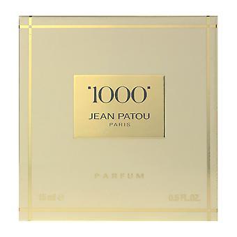 Jean Patoun 1000 Parfum Splash 0,5 Oz/15 ml uusi laatikko